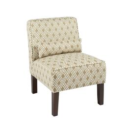 Crowley Upholstered Accent Chair with Pillow