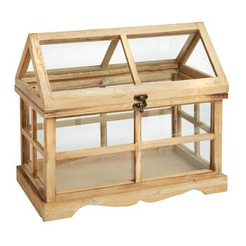 Horizontal Wood Terrarium