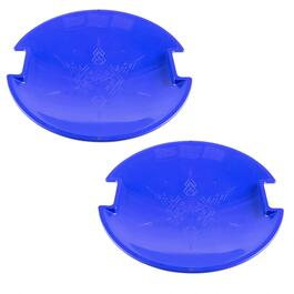 "25"" Round Snow Coaster Discs, Set of 2"