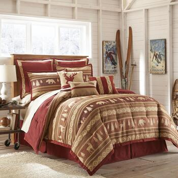 Remington Lodge Reversible Comforter Set