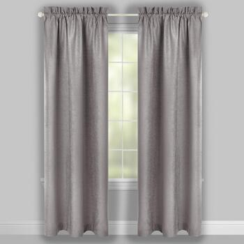 The Grainhouse™ Chenille Window Curtains, Set of 2 view 2