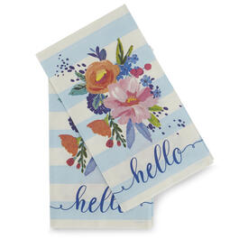 Hello Floral 20-Count Guest Towels view 1