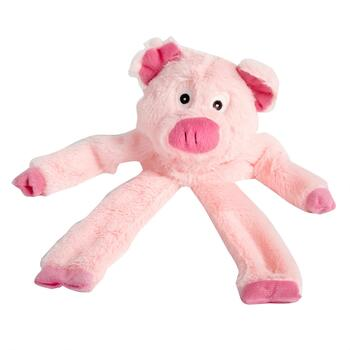 Piggy Squeaker Plush Dog Toy