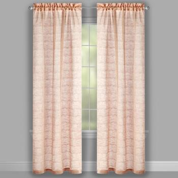 "The Grainhouse™ 95"" Geo Circles Window Curtains, Set of 2 view 2"