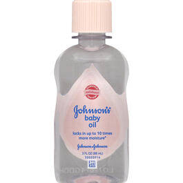JJ BABY OIL 3oz view 1