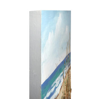 "24""x36"" Shore Path Canvas Wall Art view 2"