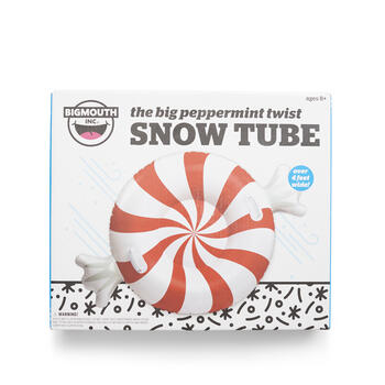 Big Mouth Peppermint Twist Snow Tube view 1