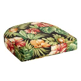 Tropical Flowers Indoor/Outdoor Gusset Seat Pad