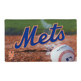 MLB New York Mets High-Definition Rubber Door Mat view 1