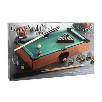 Tabletop Pool Drinking Game view 1