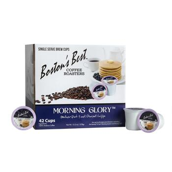 Boston's Best™ Morning Glory™ Coffee Pods, 42-Count