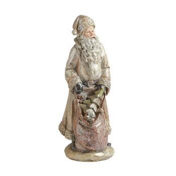 "12"" Santa with Presents Decor"