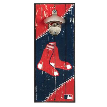 "5""x12"" Boston Red Sox Beer Bottle Opener Wall Decor"