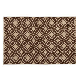 "Mohawk Home 30""x45"" Brown/Taupe Geometric Accent Rug view 1"