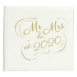 """Mr. & Mrs."" Established 2020 Our Wedding Album view 1"