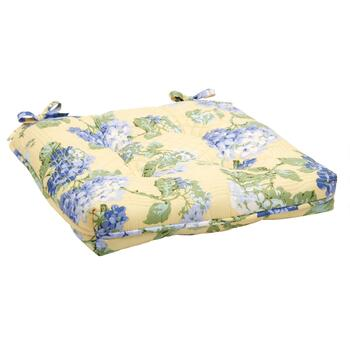 Waverly® Rolling Meadow Floral Quilted Chair Pad