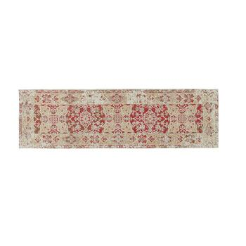 Red Venezia Tapestry All-Weather Rug view 2 view 3