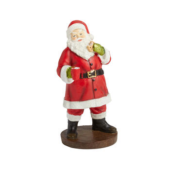 "9"" Santa with Hot Cocoa Figurine view 1"