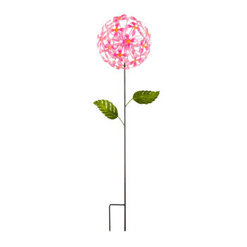 "40"" Daisy Ball Metal Garden Stake view 1"