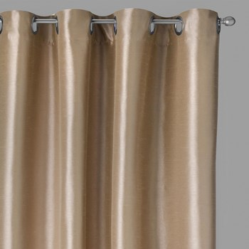 "84"" Solid Blackout Grommet Window Curtains, Set of 2"