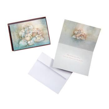 Animals with Baby Christmas Cards, 36-Count