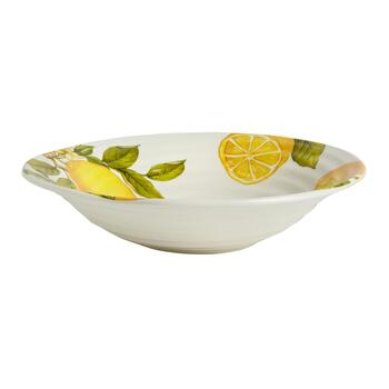 "15.5"" Lemons Jumbo Serving Bowl"
