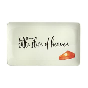 """Little Slice of Heaven"" Heavyweight Melamine Serving Tray view 2"
