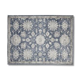 Blue Medallion 5' x 7' Area Rug view 1