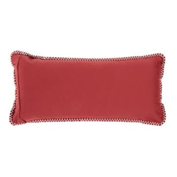 """Warm & Cozy"" Oblong Throw Pillow view 2"
