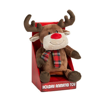 Plush Musical Reindeer Doll view 1