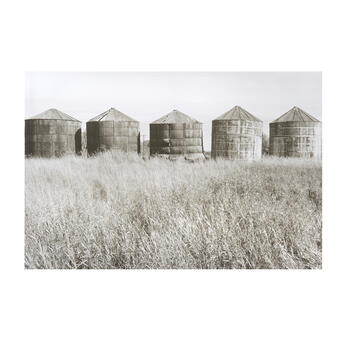 "24""x36"" Silos Canvas Wall Art view 1"