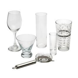 Cocktail Mixologist Bar and Wine Set, 16-Piece