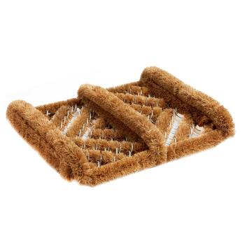 Small Coir Diamond Boot Scraper Door Mat