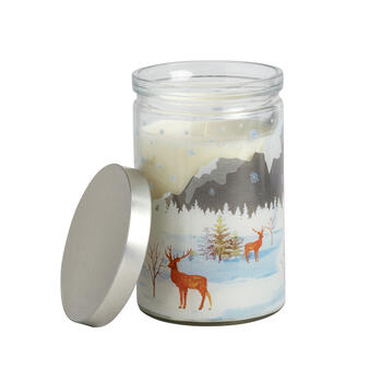 16-oz. Reindeer Vanilla-Scented Candle view 1