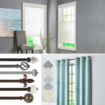Cordless Shades, Curtains & Decorative Hardware