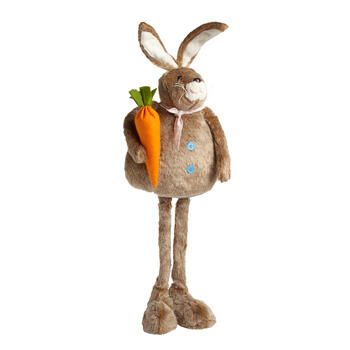 "33"" Furry Standing Bunny Decor view 1"