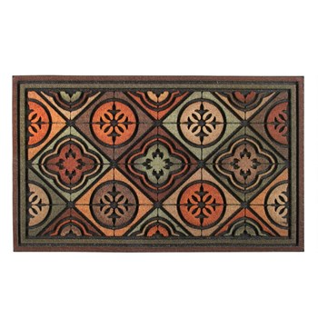 Tiles and Shapes Door Mat