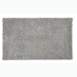 "27"" x 45"" Shag Gray Area Rug view 1"