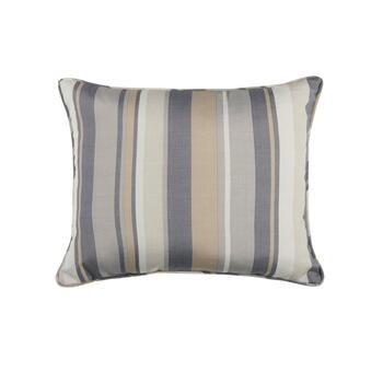 Traditions by Waverly® Striped Indoor/Outdoor Oblong Throw Pillow