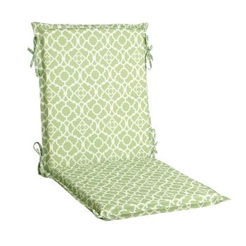 Waverly® Green Geo Scroll Indoor/Outdoor Hinged Chair Pad