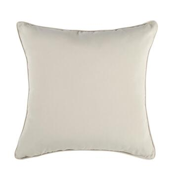 Traditions by Waverly® Solid Beige Indoor/Outdoor Square Throw Pillow