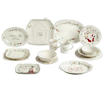 Famous Maker Winterberry Dinnerware Collection