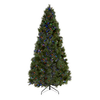 7' Pre-Lit Multicolor Micro LED Christmas Tree view 1