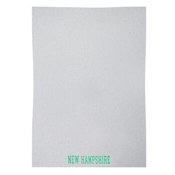 """New Hampshire"" Sweatshirt Blanket with Carry Strap"