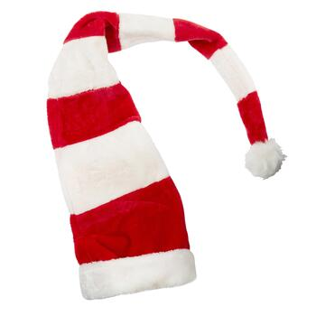 Striped Long Santa Hat