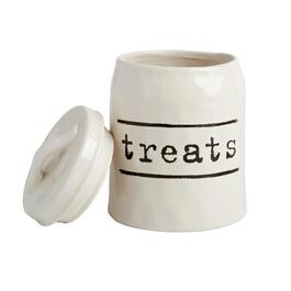 "The Grainhouse™ Typed ""Treats"" Canister"