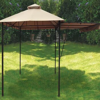 10' Outdoor Gazebo with Extensions