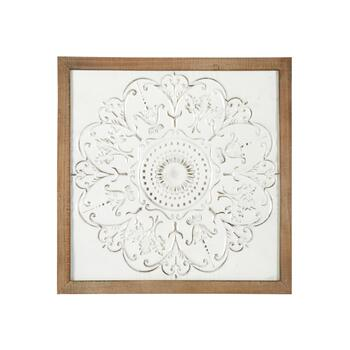"The Grainhouse™ 20"" Embossed Metal Framed Wall Decor"