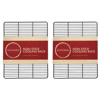 Nonstick Wire Cooling Racks, Set of 2 view 2