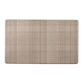 "18""x30"" Dotted Lines Cushioned Kitchen Mat"